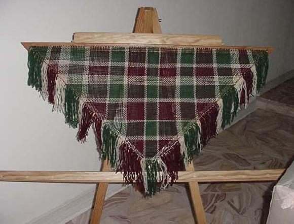 Tri And Square Loom Weaving Knitted And Felted Purses Judaica Knit